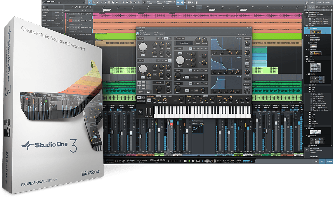 PreSonus — Studio One 3 Professional 3