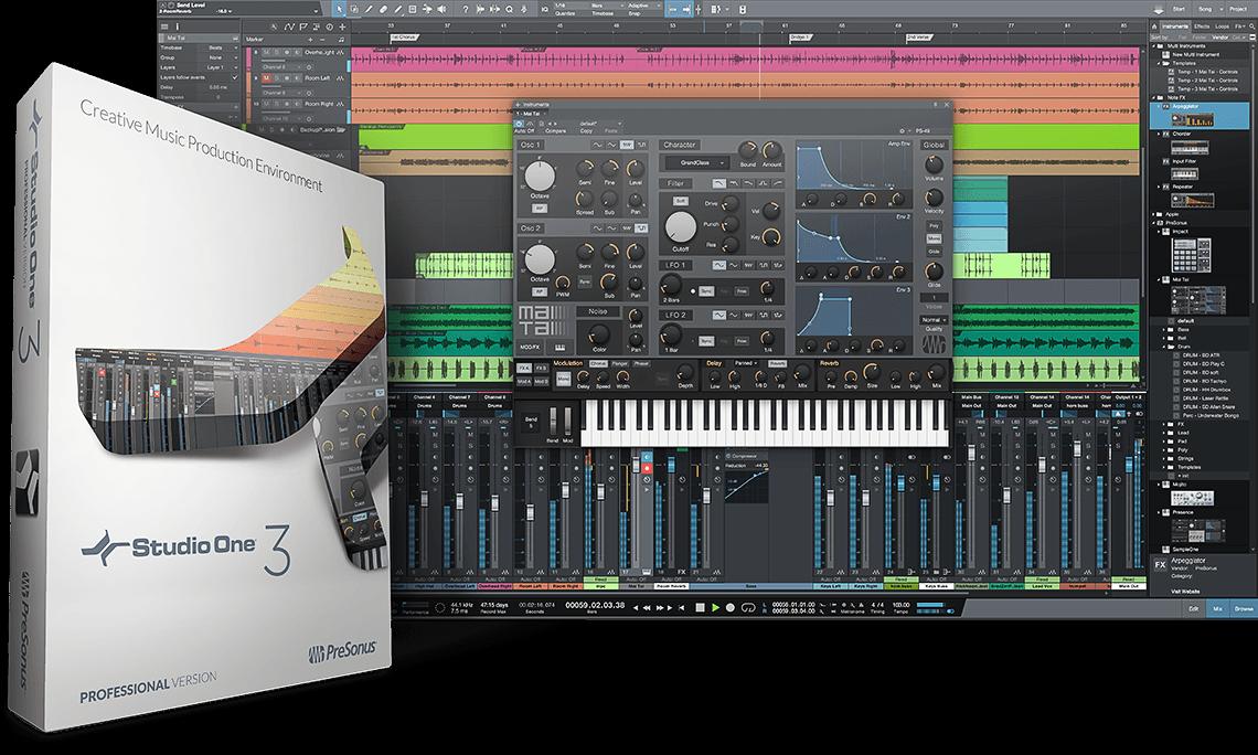 PreSonus — Studio One 3 Professional 3