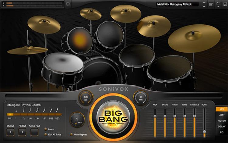 Лучшие акустические барабаны VSTi