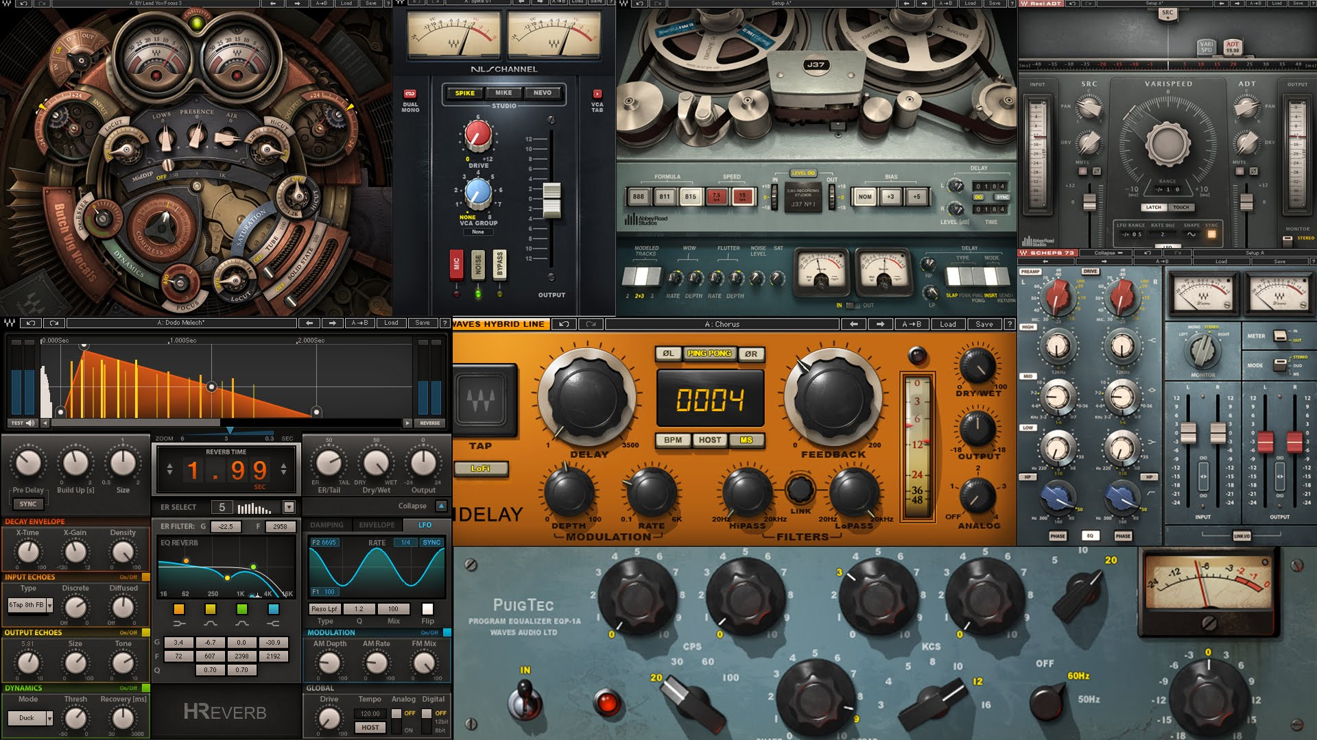 Waves — Complete 9r27 VST (x86 x64)